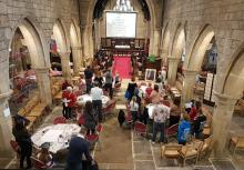 Photo of Father's Day family service at St Wilfrid's Calverley, photo credit: Rachel