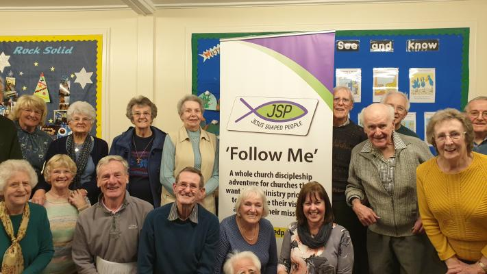 Photo of a group from Wilsden Trinity Church getting involved in JSP