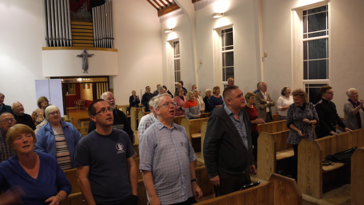 Photo of the Jesus Shaped Angels celebration at St Martin's Heaton