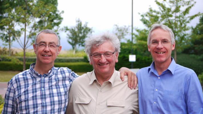 Photo of Richard Bennet, Gordon Dey, and Ian Rumsey.